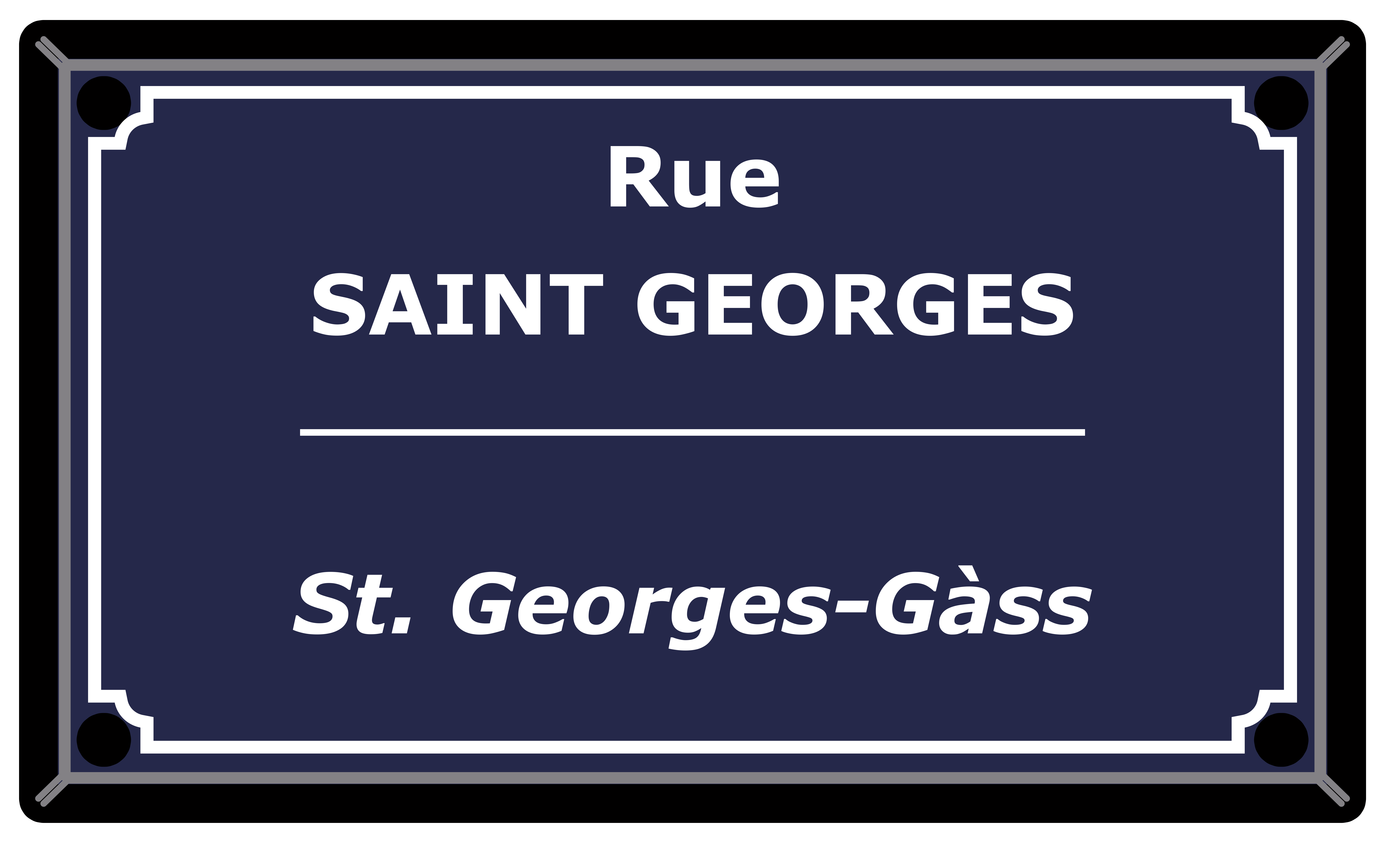 Rue Saint-Georges