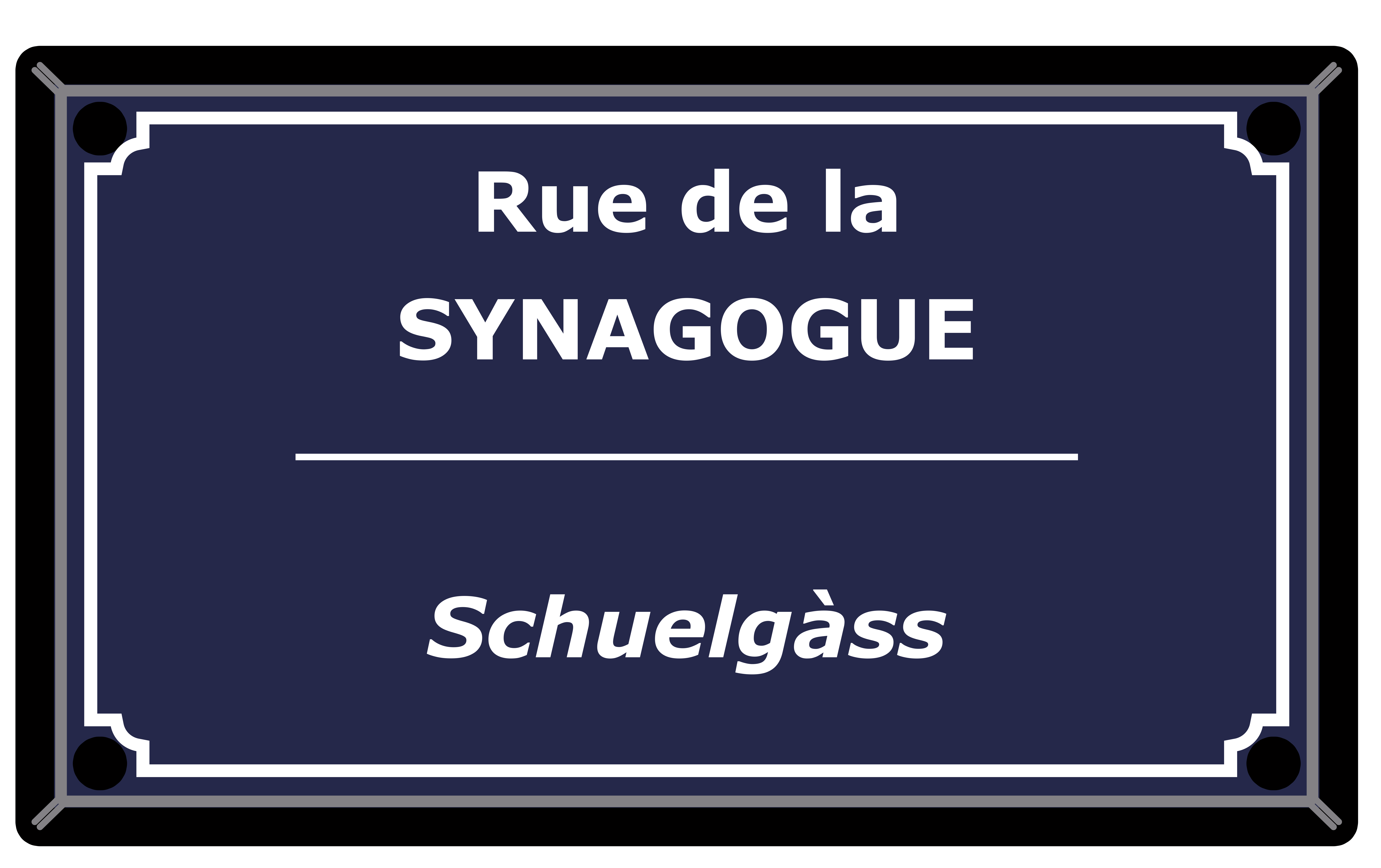 Rue de la Synagogue